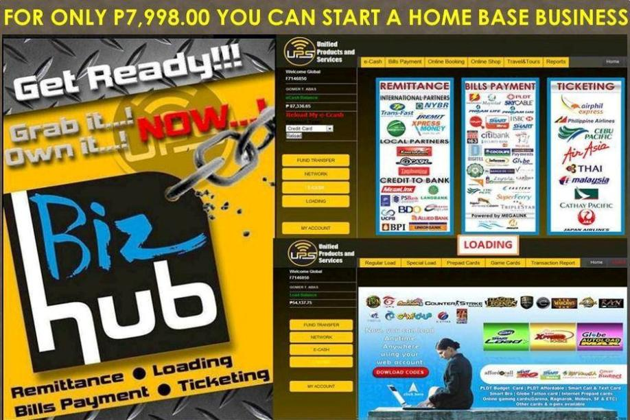 Home Based Negosyo Pinoy Dealer Package franchising business