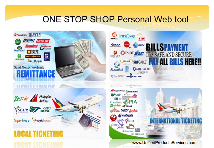 Unified Products and Services Full System Global Dealer Package Home Based Negosyo Business Online Philippines